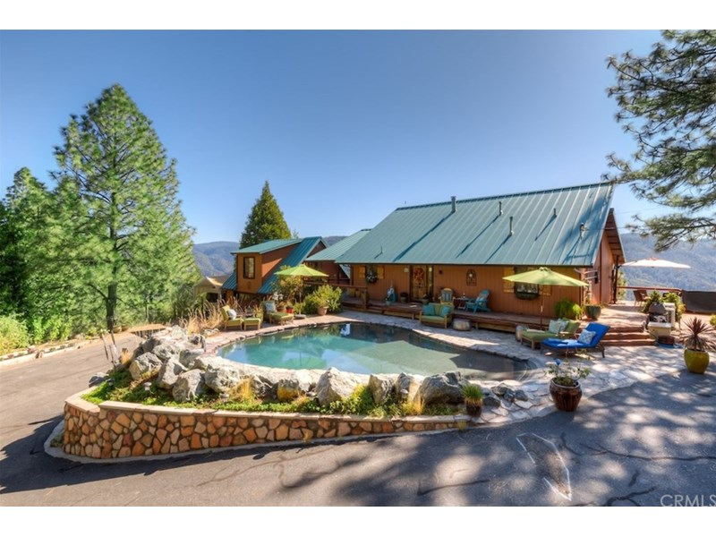 This amazing mountain property has so many possibilities! YEAR 'ROUND LIVING, CORPORATE RETREAT, HORSE SET-UP, BRING YOUR DREAMS, IT'S READY FOR YOU!