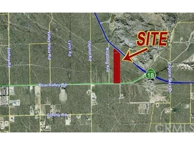 Bear Valley Ca >> 0 Hwy 18 Bear Valley Rd Road Apple Valley Ca 92307