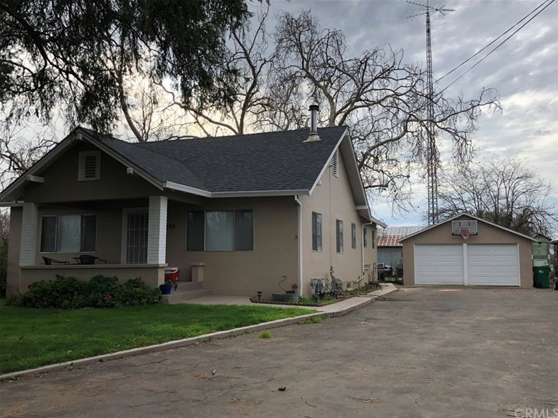 Primary Residence & Detached Garage