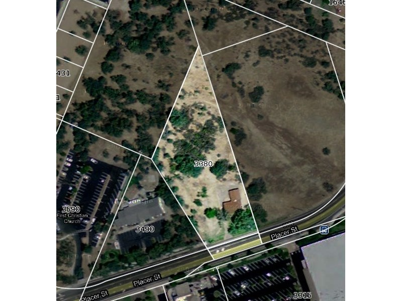 3380 Placer - approximate lot lines -